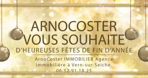 Immobilier Rennes – Heureuses fêtes de fin d'année –