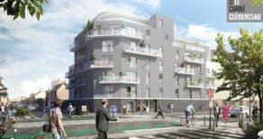 RENNES PROGRAMME NEUF – LE CARRE CLEMENCEAU -7 appartements disponibles-