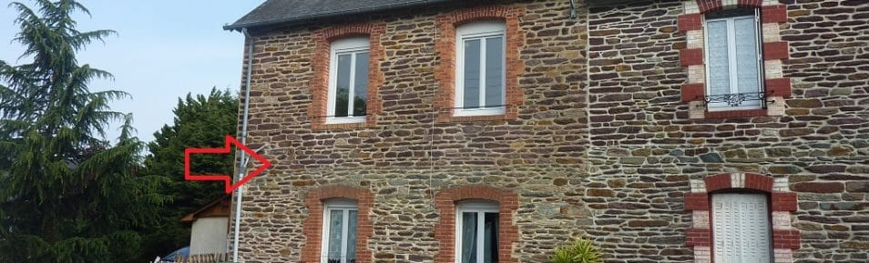 VERN-SUR-SEICHE (35770) Maison en pierres plein centre bourg